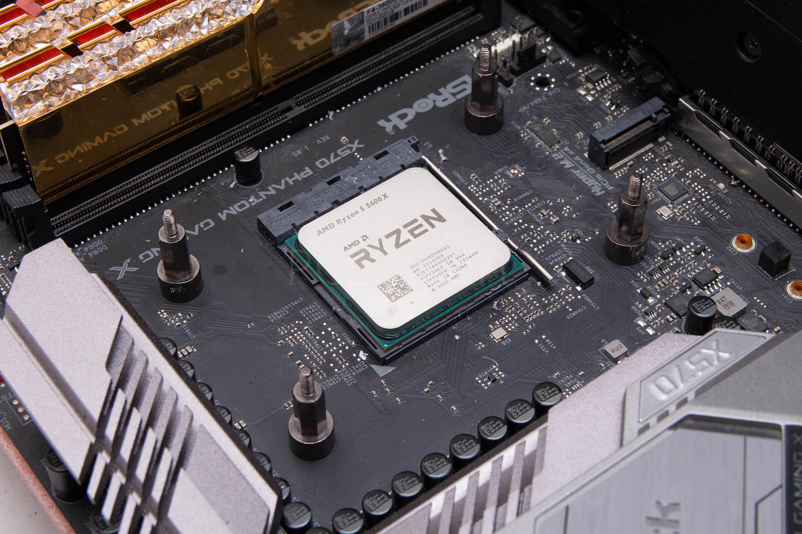 AMD Ryzen 5 5600X recenzija