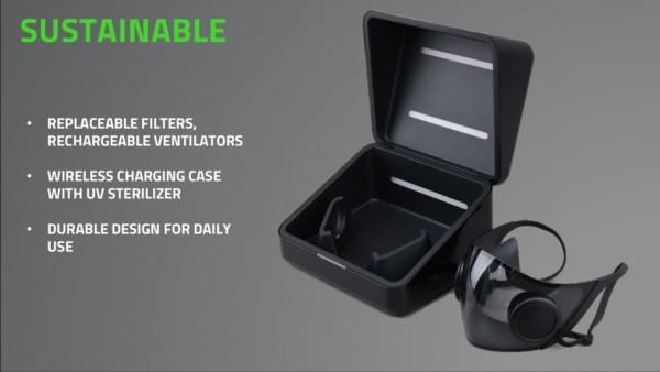 Razer pokaza cool N95 masku s RGB LEDom  -3