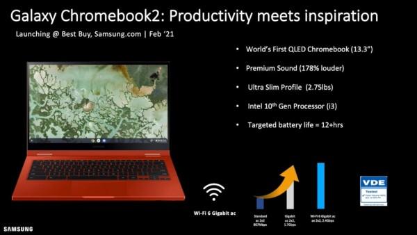 Samsung Galaxy Chromebook 2 - skoro lanisranje