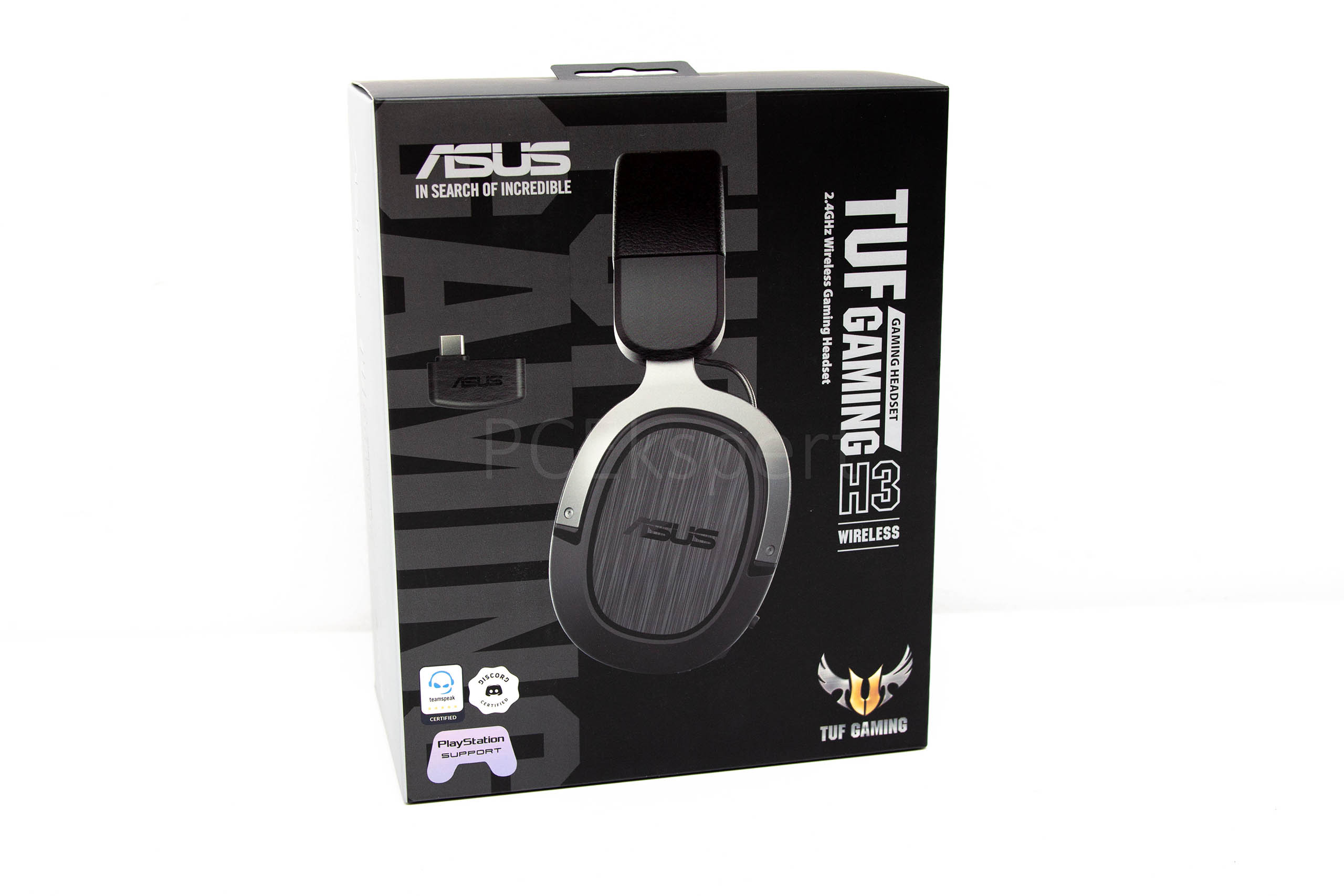 ASUS TUF Gaming H3 Wireless recenzija