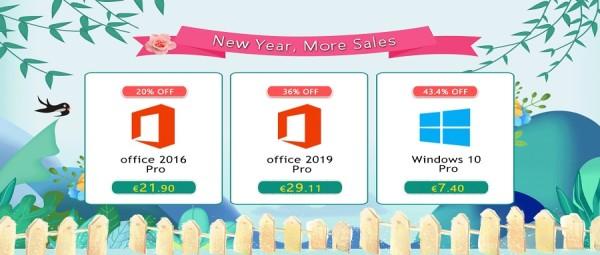 Još novogodišnje rasprodaje: Windowsi Pro za samo 7,40 €