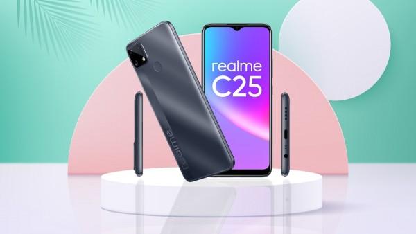 REALME C25 – baterija od 6.000 mAh i Helio G70