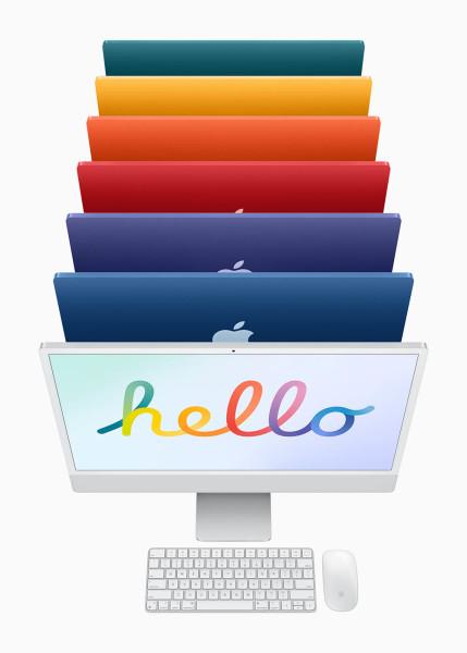 Objavljen 24-inčni iMac s M1 procesorom