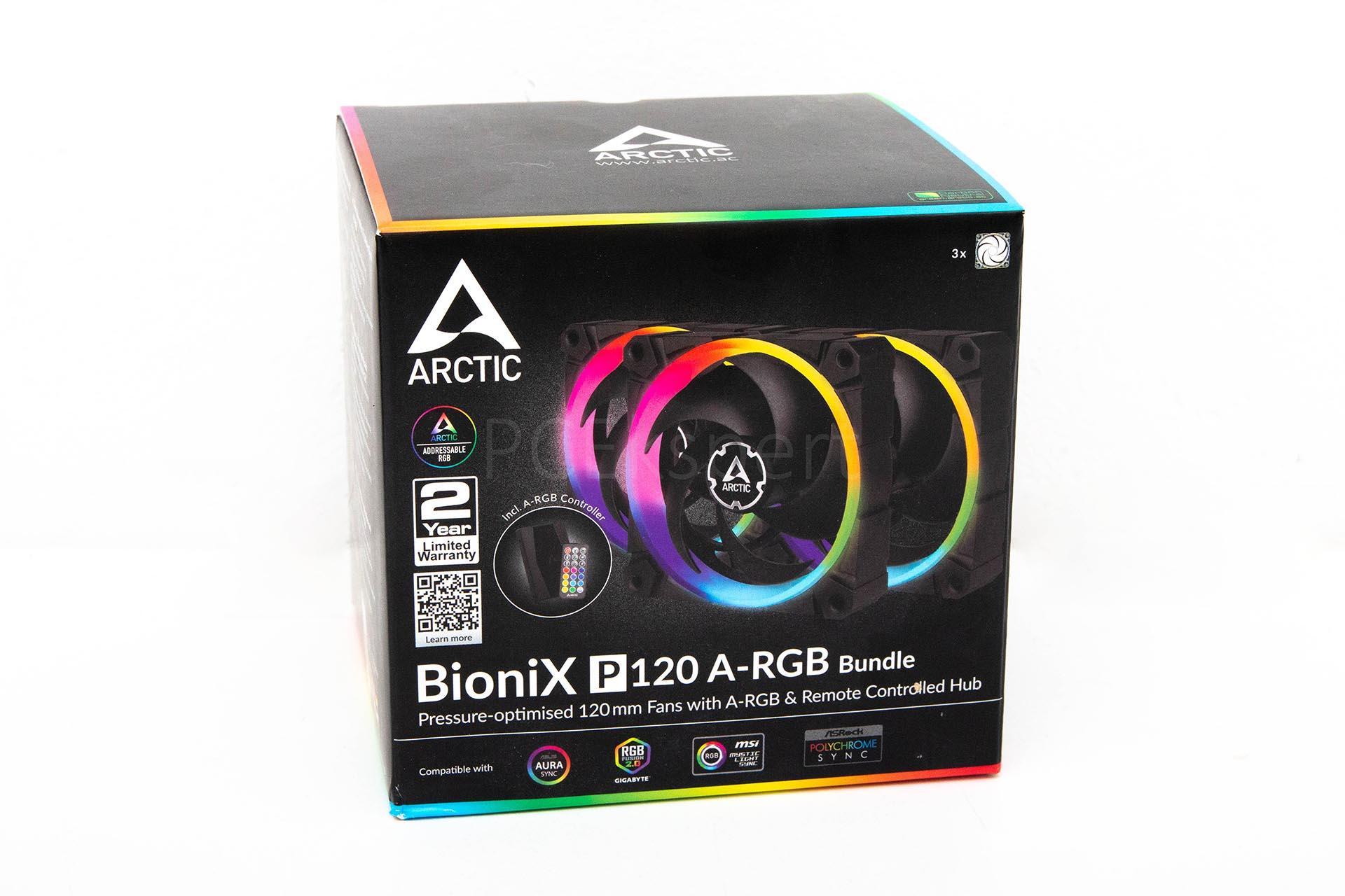 Arctic BioniX P120 A-RGB Bundle recenzija