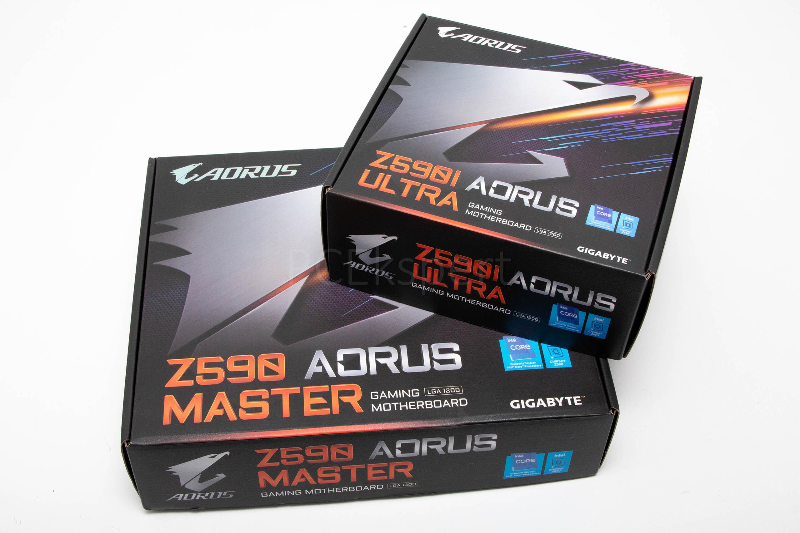 Gigabyte Z590 Aorus Master & Z590I Aorus Ultra recenzija