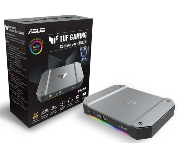 ASUS lansira TUF Gaming Capture Box CU4K30 spreman za streaming