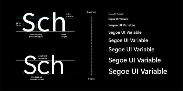 Microsoft objavio novi Segoe UI promjenjivi font
