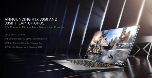 NVIDIA RTX 3050 i RTX 3050 Ti oživjet će jeftinija prijenosna računala
