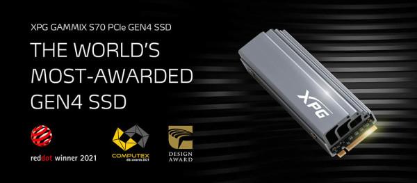 XPG GAMMIX S70 osvojio nagradu 2021 COMPUTEX d&i
