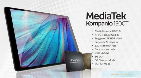 MediaTek objavio Kompanio Dimensity 1300T SoC za tablete i ARM prijenosnike_1