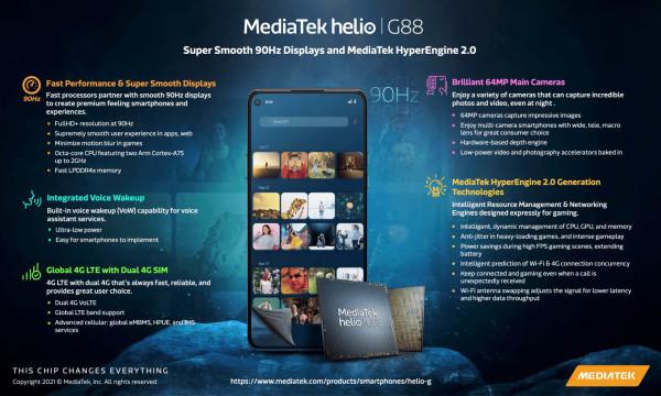 Objavljeni MediaTek Helio G88  i  G96 (3)