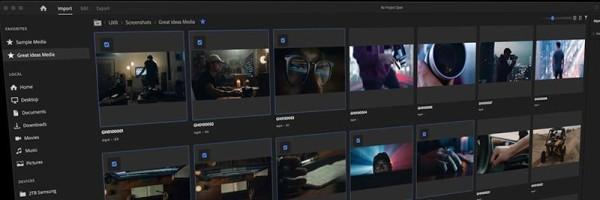 Redizajnirano Adobe Premiere Pro sučelje postalo intuitivnije i operativnije