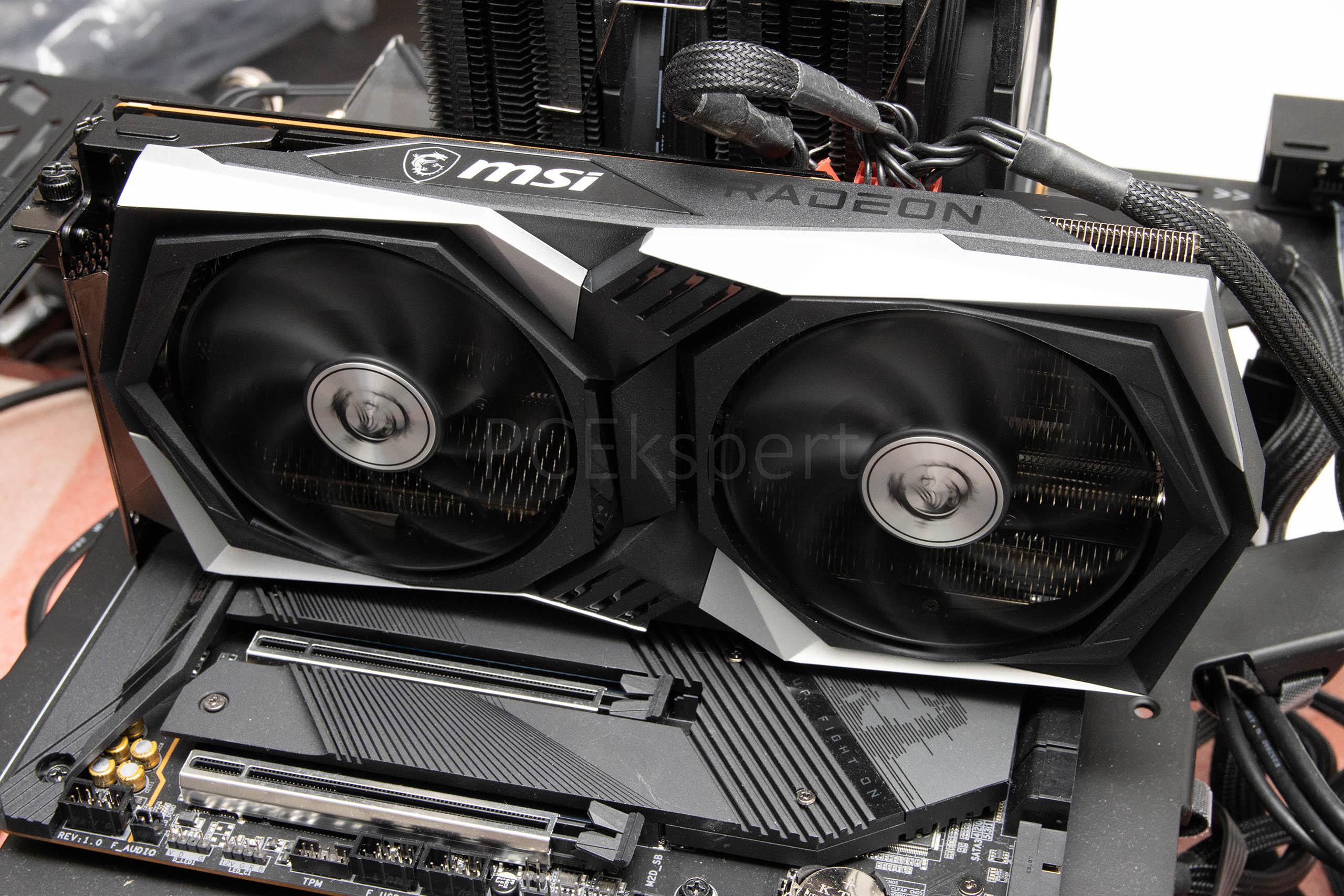 MSI Radeon RX 6600XT Gaming X recenzija
