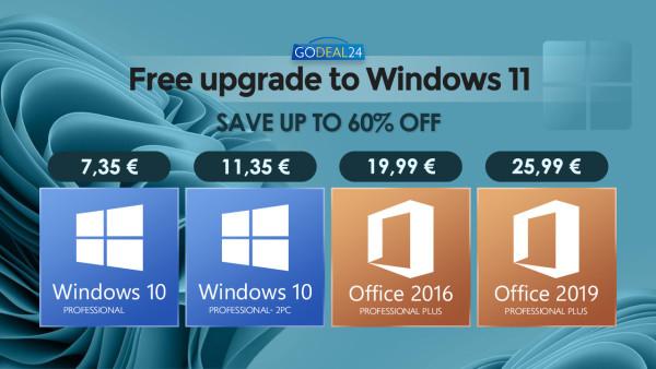 Kupite Windowse 10 za 7,35 € i spremite se za besplatnu nadogradnju na Windows 11!