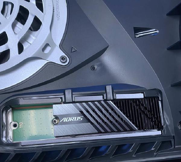 AORUS Gen4 7000s SSD serija otključava proširenje PS5
