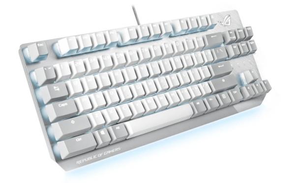 ASUS lansira ROG Moonlight White tipkovnicu i miša