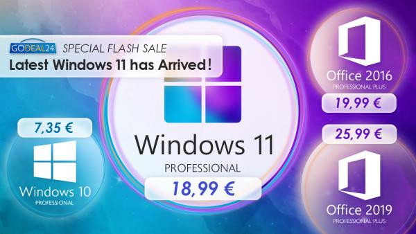 Windowsi 11 su stigli, Godeal24 nudi najjeftiniji način da ih odmah imate!