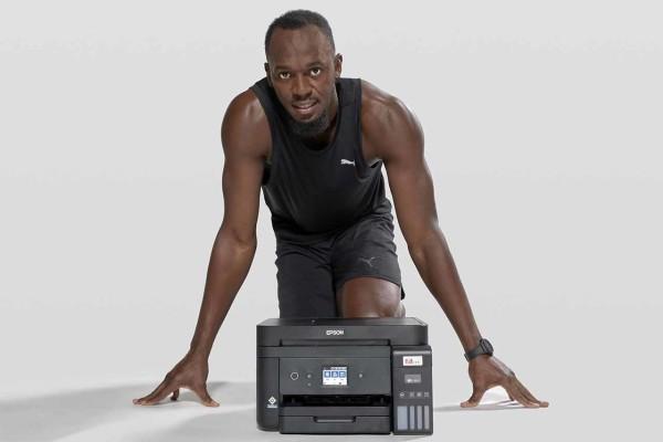 Usain Bolt nova je zvijezda Epsnovih EcoTank pisača